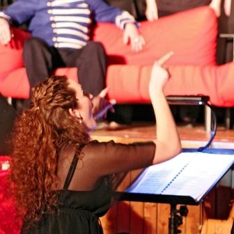 Chorleiterin